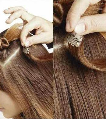 Durch Extensions hatte jede Frau die Chance auf eine volle Haarpracht